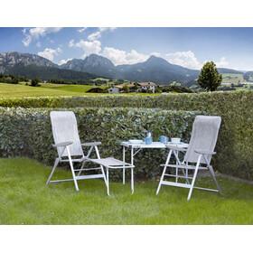 Brunner Skye Chaise à quatre pieds, light grey